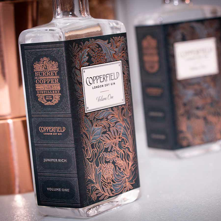 The Surrey Copper Distillery London Dry Gin