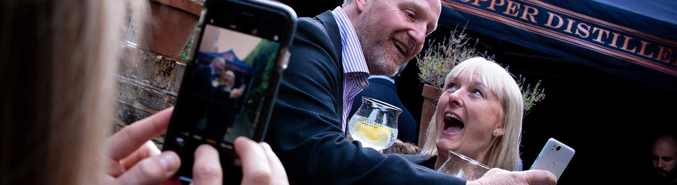 Launch event for The Surrey Copper Distillery's first ever spirit, Copperfield London Dry Gin, at Charles Dickens Museum, London - part of my corporate photography package