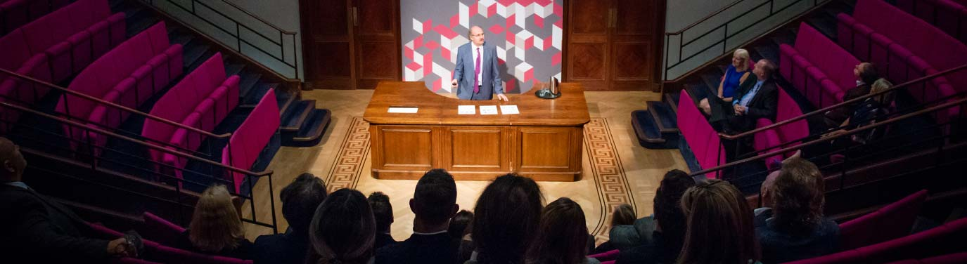 Presentation delivered at The Royal Institution, London